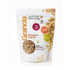 Organic Granola cereals - Mixed Fruit - 0,330 Kg
