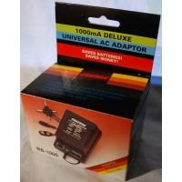 Universal AC power supply adaptor 1 000 mA with LED indicator