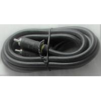 AMX audio cable male-male phono plug RCA mono 0,8 Meters (6' feet) extension (bulk)