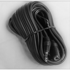 3,5 mm audio cable extension female-male stereo 20 feet (bulk)
