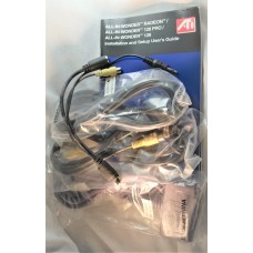 ATI All-In-Wonder video graphic card cable kit