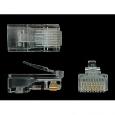 Network cable connector RJ45 modular. FREE SHIPPING