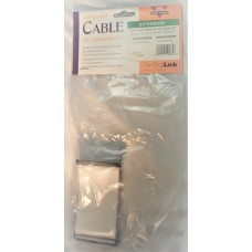 Internal IDE cable for double, CD, DVD, hard drive, 40 pins, ATA-66, 36 inch, female-female, 40 wires