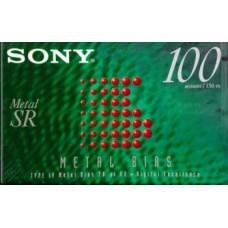 Audio metal cassette SONY METAL  SR 100 MIN