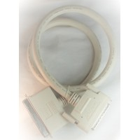 SCSI Cable Centronic 50 Male HPD68 Male 6' ft feet Techcraft bulk with 2 end caps