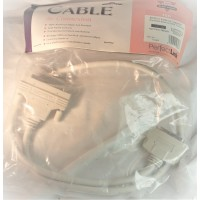 SCSI-3 cable Half Pitch DB68 Male MINI DB50 Male 6' ft feet retail PERFECT LINK/STARTECH