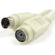 PS/2 cable extension MINI DIN 6F 6M 6' ft feet