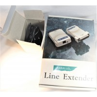 Printer cable parallel DB25M DB25M with RJ11 50 feet amplified cable with power supply powered line extender