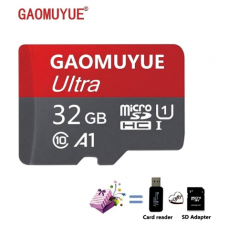 Micro SD 32 Gb memory card for smartphone, Class 10 - FREE SHIPPING