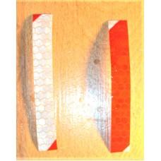 Reflective Bicycle Sticker Strips - Bike Safety - 1 x 6 cm
