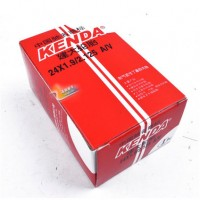 Bicycle tube 24 inch x 1,9/2,1255 48mm Schrader valve A/V Kenda