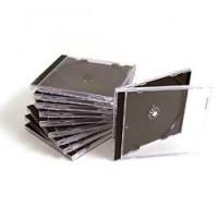 CD/DVD single jewel case standard for 1 disk