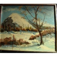 """""""Landscape"""", Bona ( Jacques Bonin ) unsigned - FREE SHIPPING"""
