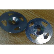 "Galvanised  washer steel  32 mm (1-1/4"") for Tile panel, shower Board backer"