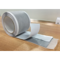 Butyl tape for waterproof membrane 0,8 mm x 8 cm x 5 m (SOLD BY THE FEET)