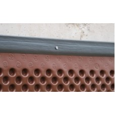 Foundation drainage moulding for membrane 1,83 meters x 4,45 centimeters (6 feet x 1,75 inches) Delta FLASH (recycled PE)