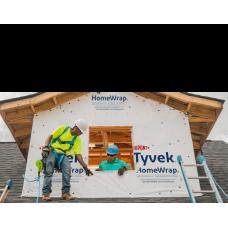 Tyvek Dupont HomeWrap membrane 3 feet X 1 feet air barrier - SOLD BY SQUARE FEET