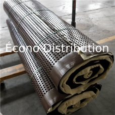 Foundation drainage board membrane 2 meters x 15 meters (6 feet 6,7 inches x 49 feet) (full roll) Econo Distribution (HDPE)