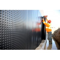 Foundation and floor drainage board membrane (full roll) Platon (HDPE)