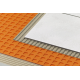 "Uncoupling waterproof membrane  1 m x 16,25 meters  (39 inches x 53 feet 3"" = 175ft2) PE Schluter®-DITRA-XL"