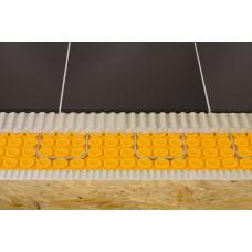 Floor heating waterproof membrane 1 m x 12,5 meters  (39 inches x 41 feet = 134,5 ft2) PP Schluter®-DITRA-HEAT